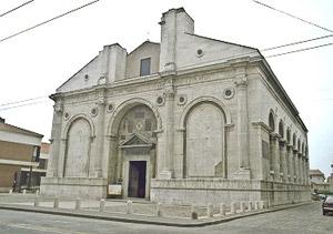 5------Leone-Battista's-Alberti's-San-Franceso-in-Rimini,-Italia